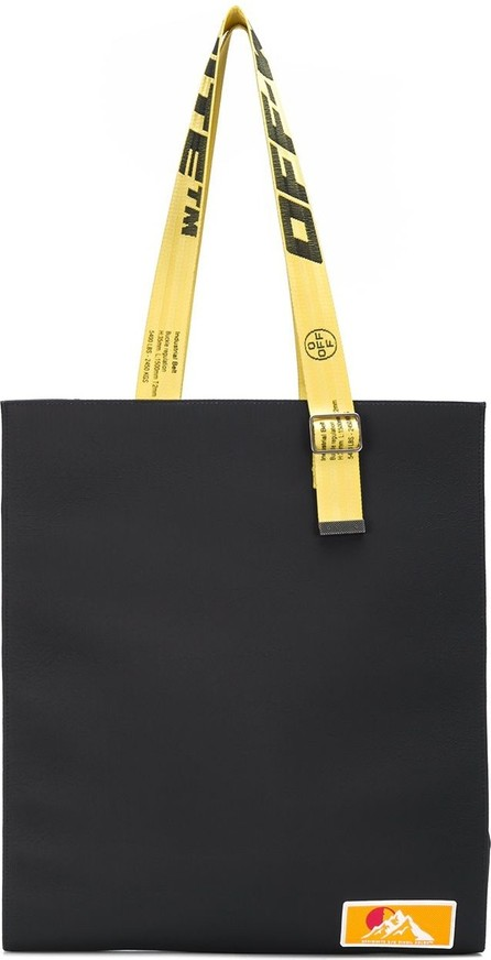Off White Industrial straps tote