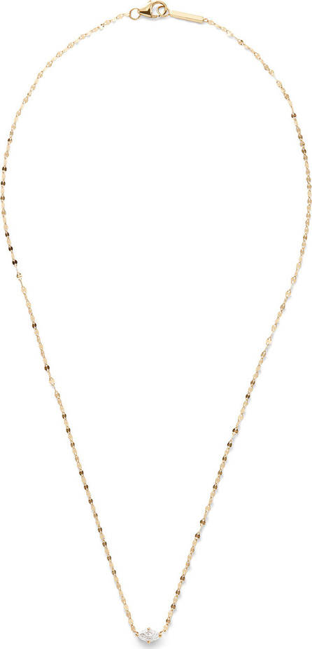 Lana 14k Gold Marquise-Cut Diamond Pendant Necklace