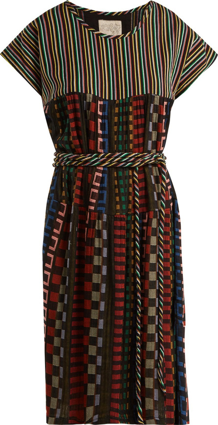 ace&jig Belted cotton-blend dress