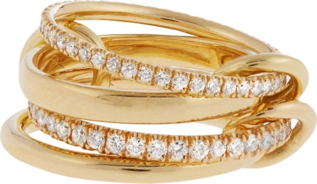 Spinelli Kilcollin Polaris diamond & yellow-gold ring