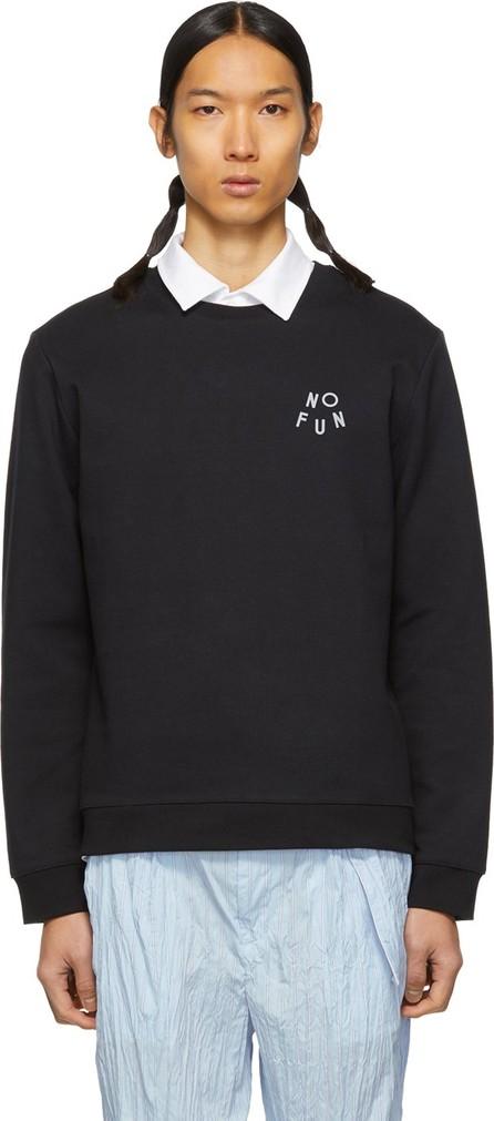 A.P.C. Black 'No Fun' Sweatshirt