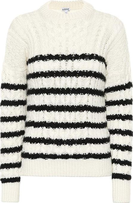 LOEWE Striped wool sweater