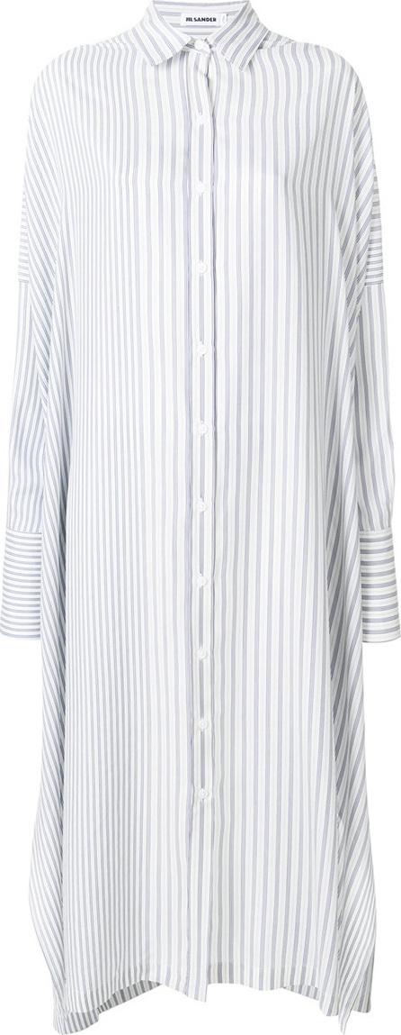 Jil Sander Striped shirt dress