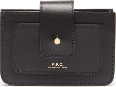 A.P.C. Albane leather wallet