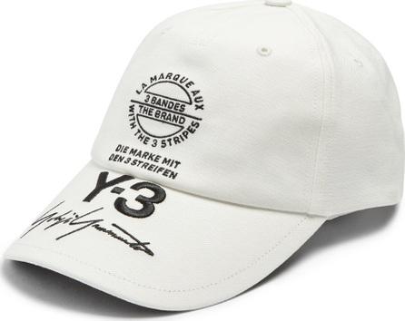 Y-3 Logo-print cap