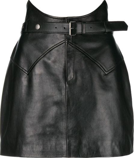 Saint Laurent Belted mini skirt