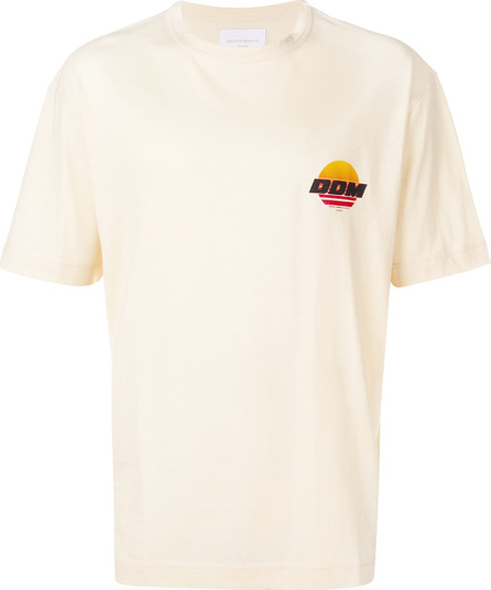 Drôle De Monsieur Sunset small logo T-shirt