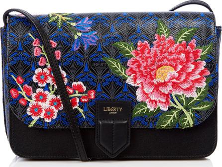Liberty London Elysian Embroidery Portland Shoulder Bag