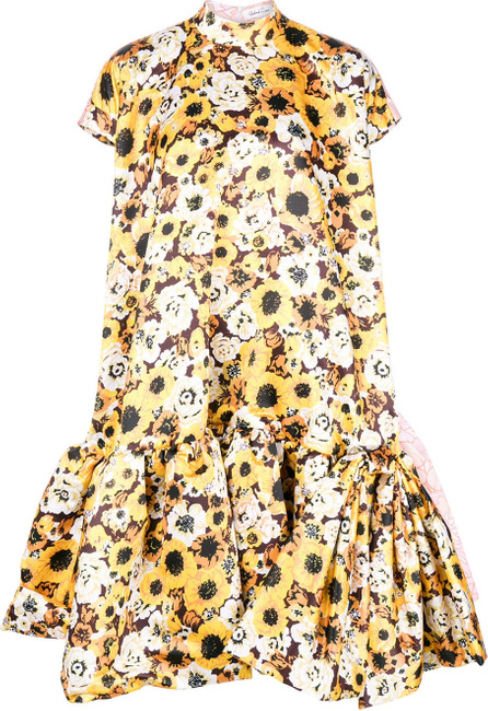 Richard Quinn Floral print balloon dress