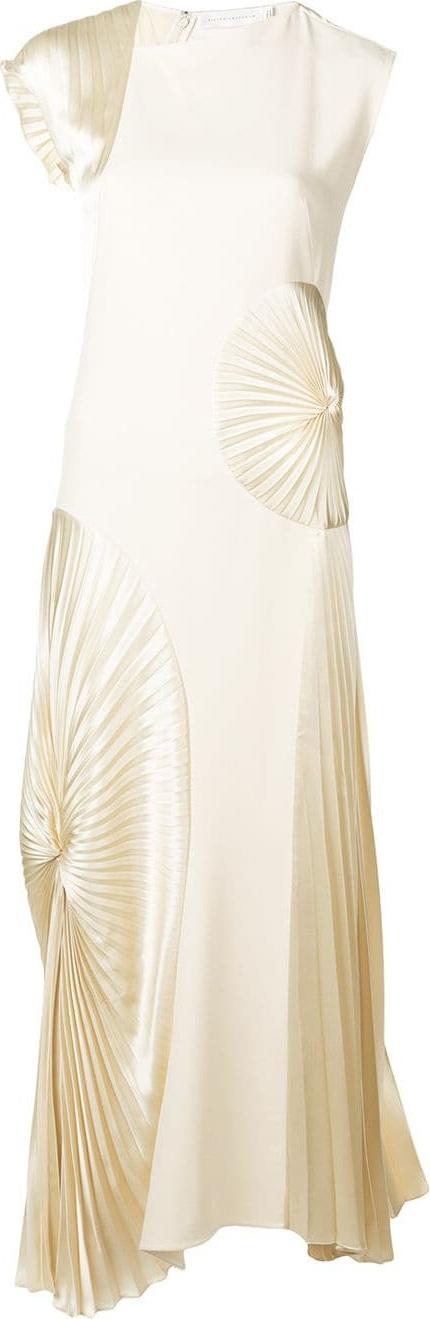 Victoria Beckham Circular pleated dress