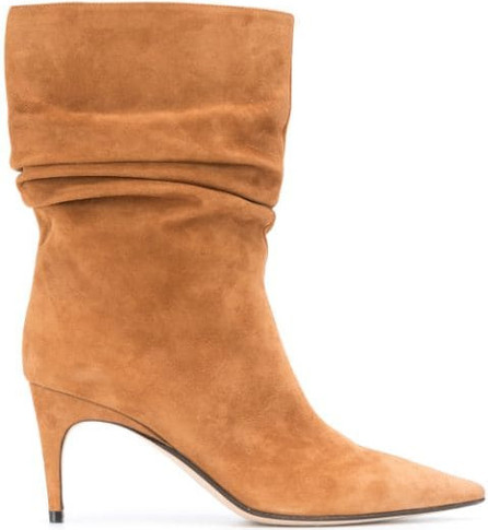 Sergio Rossi Sr Cindy ruched ankle boots