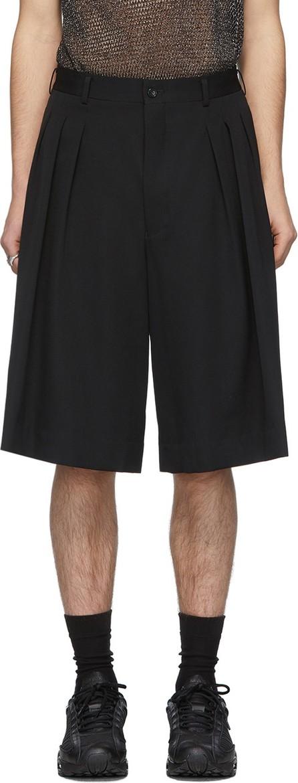 Comme Des Garçons Homme Plus Black Wool Shorts