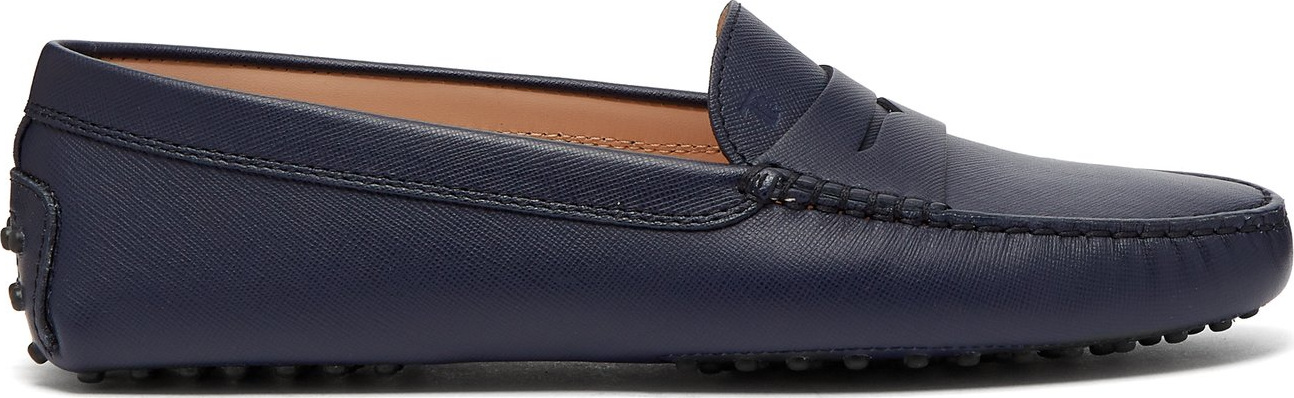 Tod's - Gommino saffiano-leather loafers