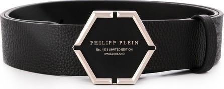 Philipp Plein Hexagon logo belt