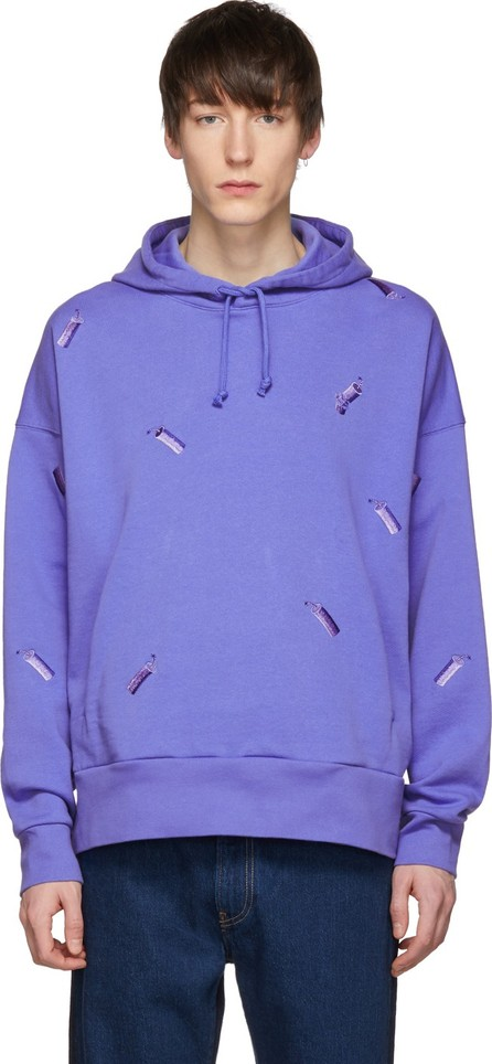 Feng Chen Wang Blue Levi's Edition Embroidered Hoodie