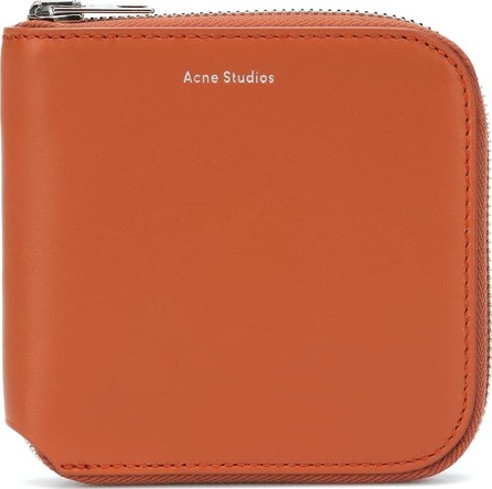 Acne Studios Csarite S leather wallet