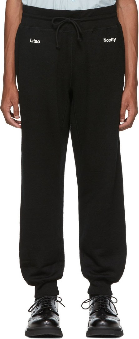 Undercover Black A Clockwork Orange Print Lounge Pants