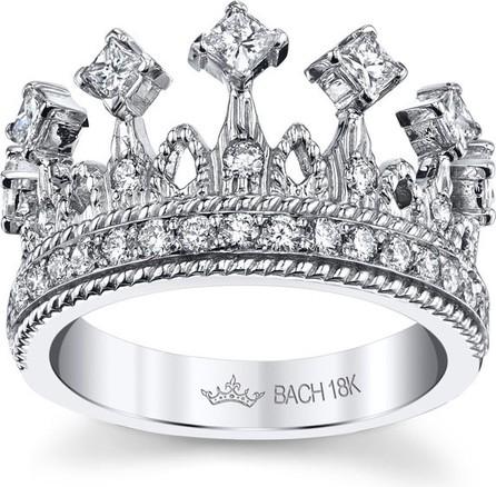 Cynthia Bach Empress Tiara 18k White Gold Diamond Ring