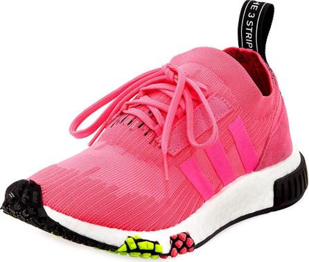 Adidas NMD_Racer Primeknit Trainer Sneaker, Solar Pink