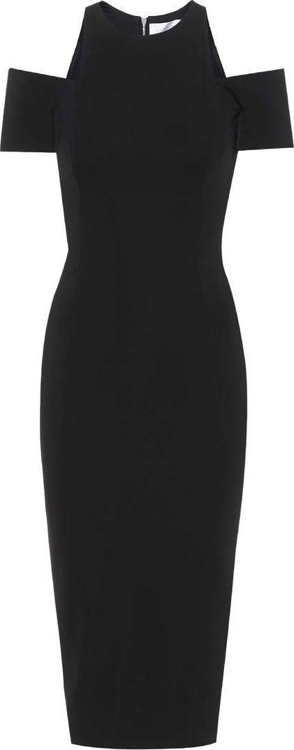 Victoria Beckham Crêpe midi dress