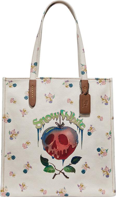 COACH 1941 Disney Dark Fairy Tale Poison Apple Tote Bag