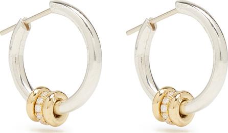 Spinelli Kilcollin Ara diamond, silver & yellow-gold earrings