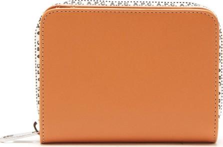 A.P.C. Emmanuelle logo-trim leather wallet