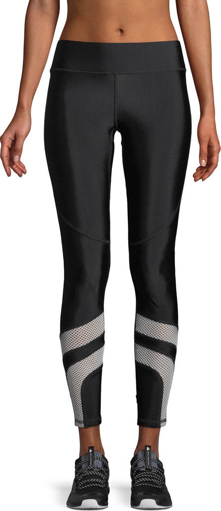 Terez Mesh-Insert Performance Leggings