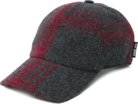 Golden Goose Deluxe Brand Check knit cap