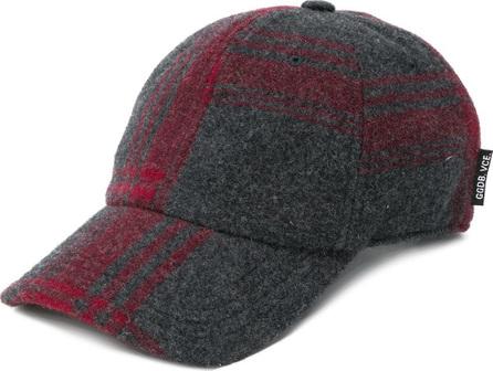 Golden Goose Deluxe Brand Check knit cap