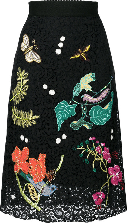 Essentiel Antwerp Embroidered lace skirt