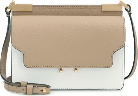 Marni Trunk Micro leather shoulder bag