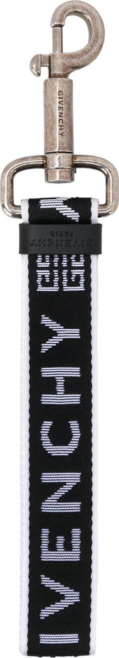 Givenchy Webbing logo keyring