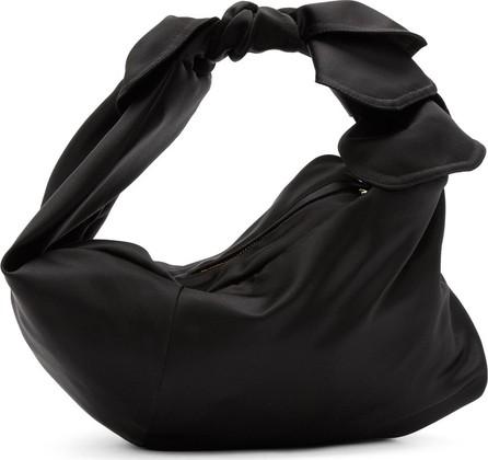 Simone Rocha Black Satin Baby Wrap Bag
