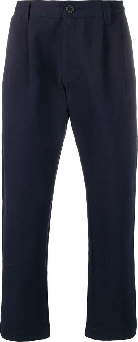 Etudes Cropped chino-trousers