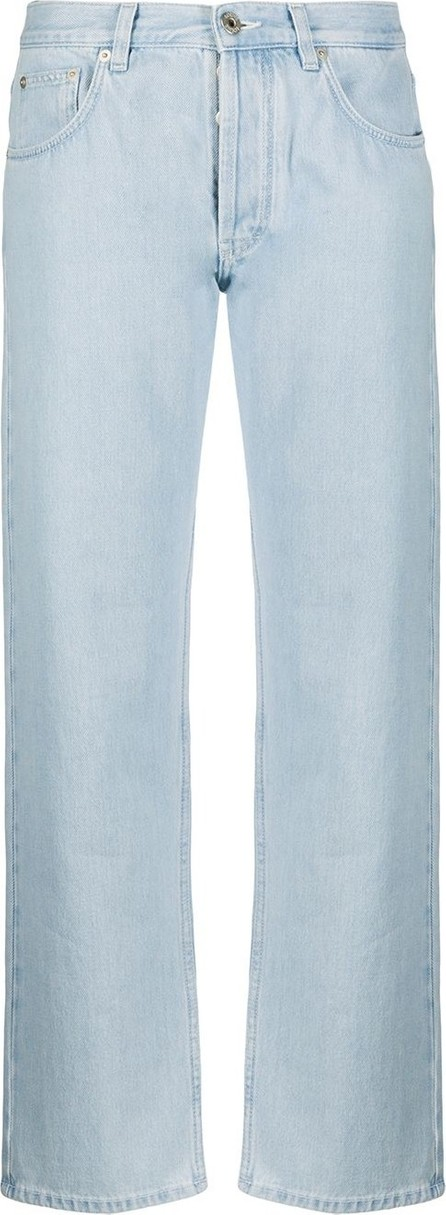 LOEWE Embroidered back pocket jeans