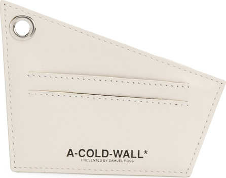 A-Cold-Wall* Logo print cardholder