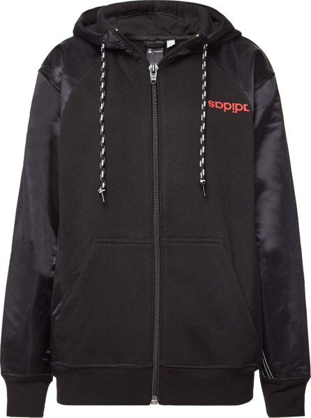 Adidas Originals by Alexander Wang Aw Zipped Hoody with Cotton