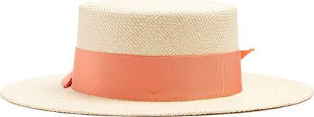 Federica Moretti Tea straw hat
