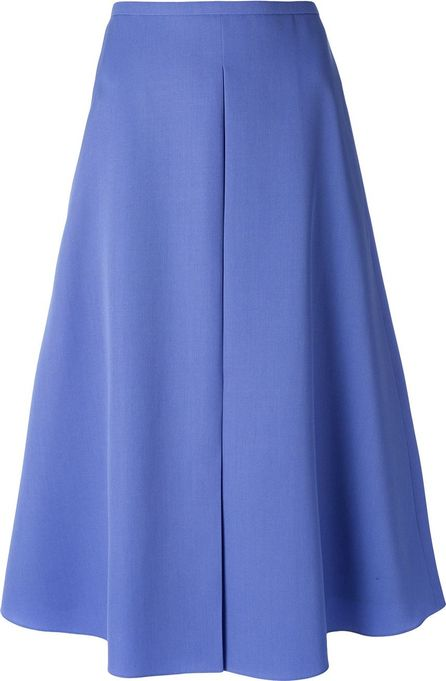 ROCHAS flared midi skirt