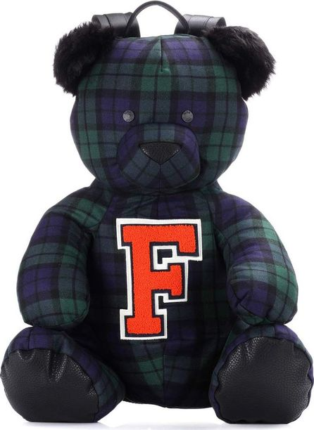 FENTY PUMA by Rihanna Mascot Bear plaid backpack