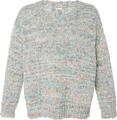 Adam Lippes Slouchy Textured Cotton Knit Pullover