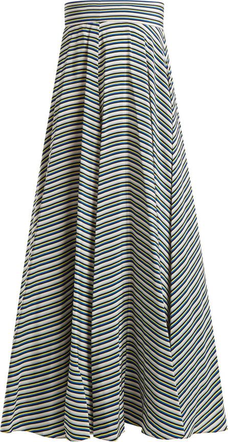 DIANE von FURSTENBERG Paxton striped silk skirt