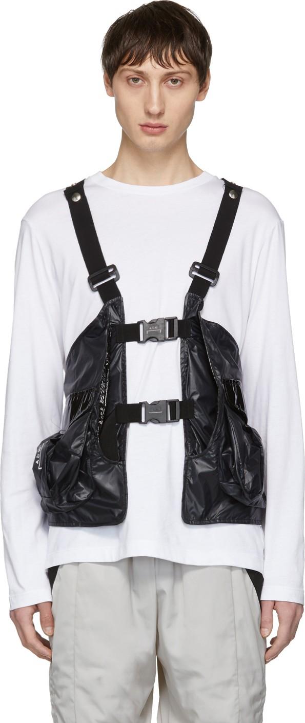 Black Reduction Utility Vest