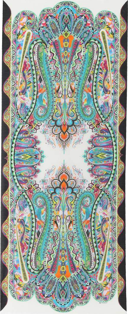 Etro Cotton and silk scarf