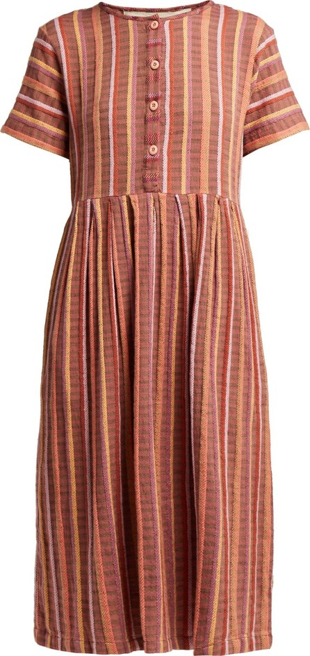ace&jig Ashcroft striped cotton dress
