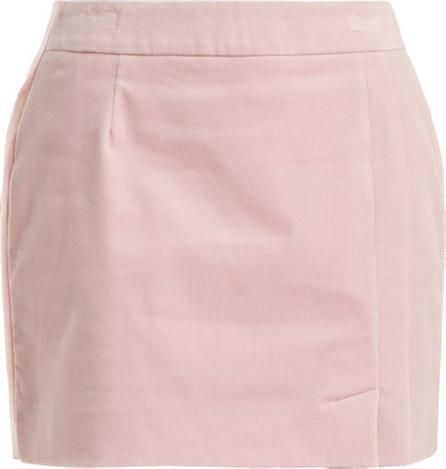 Bella Freud Alexa velvet mini skirt