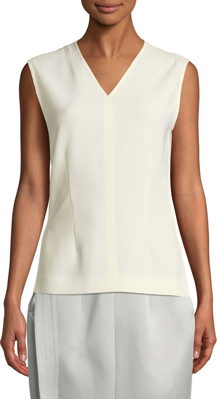 Joseph Cecily Fluid Twill Sleeveless Top