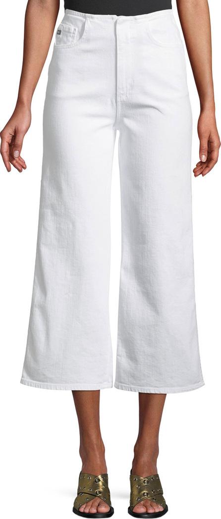 AG Jeans Etta High-Waist Cropped Wide-Leg Jeans