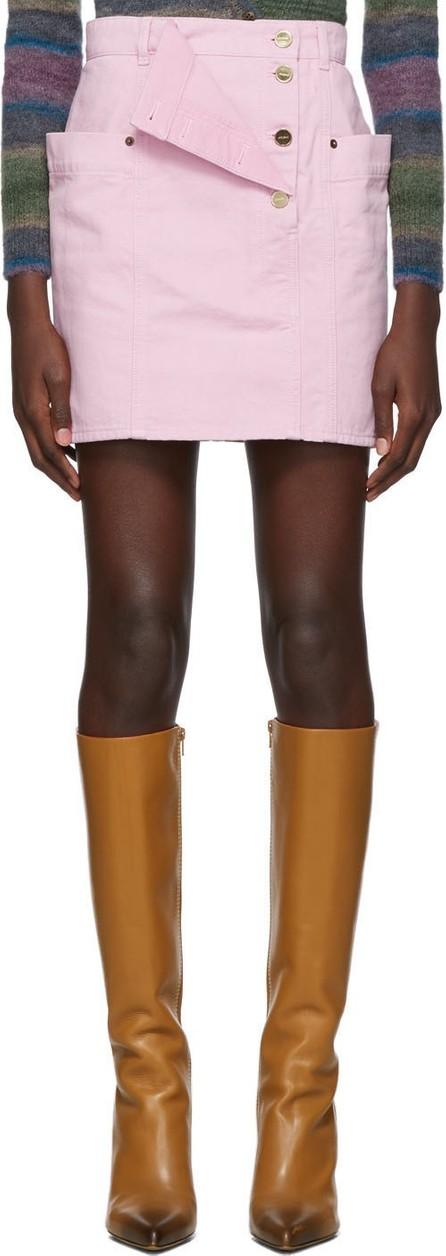 Jacquemus Pink 'La Jupe De Nîmes' Miniskirt